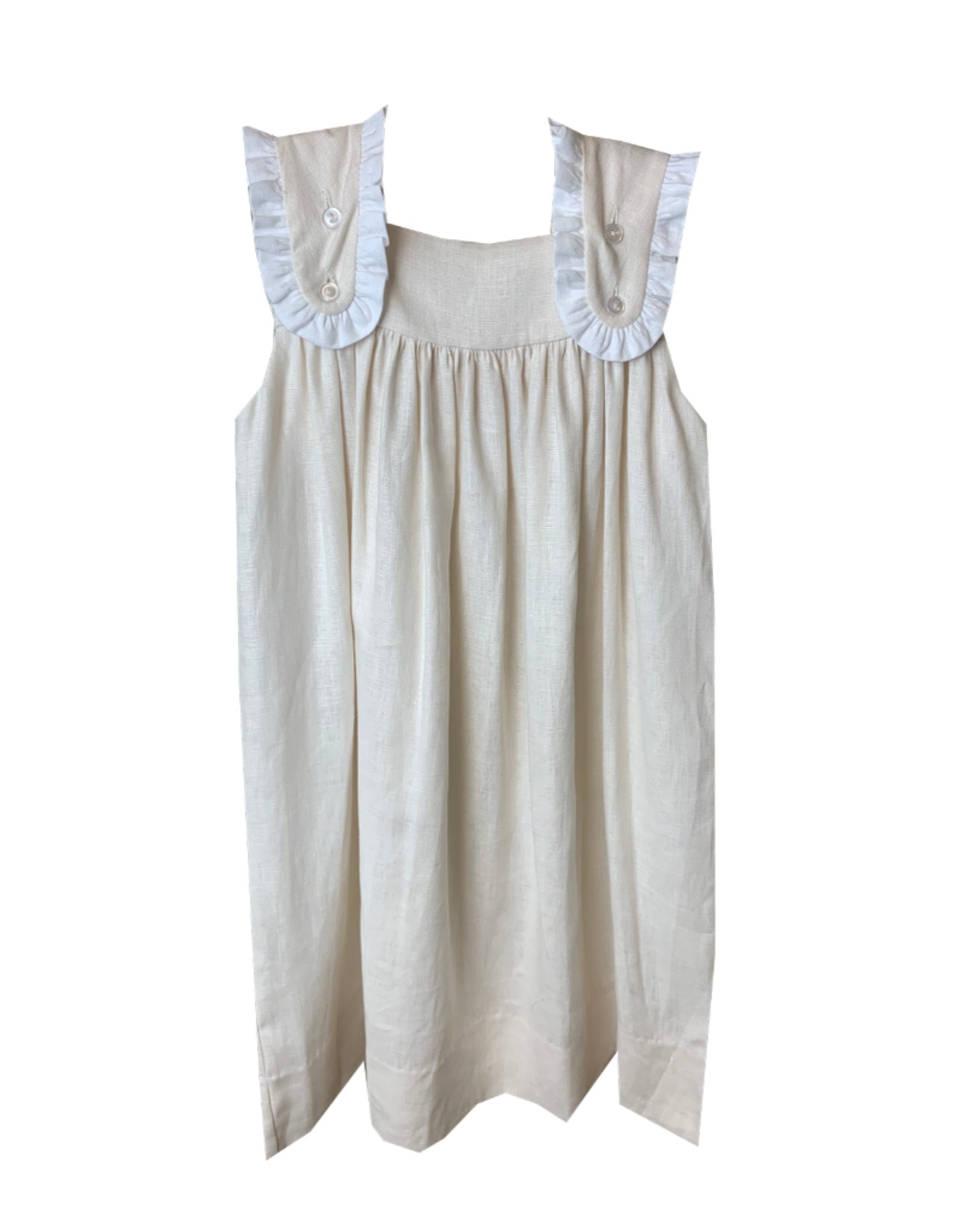 LullabySet Flap Linen Dress