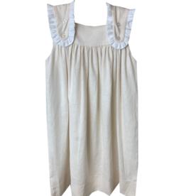 LullabySet Flap Linen Dress