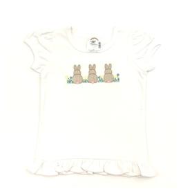 Fleur de leigh Bunny Trio T-Shirt Girl