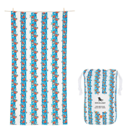 Dock & Bay Monkey Business Patterned Quick Dry Towel