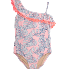 Shade Critters Pink Monstera 1 Shoulder 1 Piece
