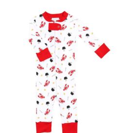 Magnolia Baby Let's Get Cray Footie Pajama