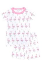 Magnolia Baby Flamingo Short Set Pajamas