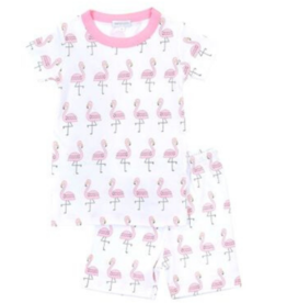 Magnolia Baby Flamingo Short Set Pajamas
