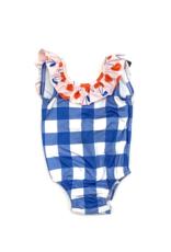 James and Lottie Tess Cherry Ruffle Swimsuit