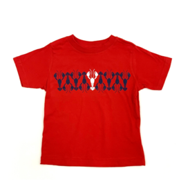 Bon Temps Red Crawfish Tee