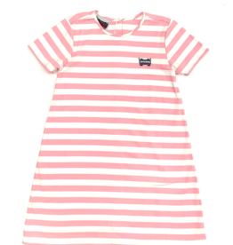 Bon Temps Parker Pink Stripe Dress