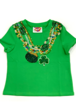 Sparkle City Green With Sparkley Beads