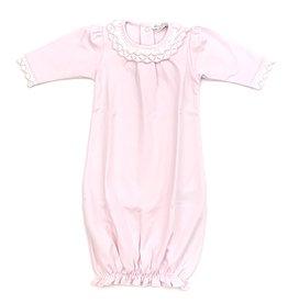 Kissy Kissy Light Pink Crochet Gown