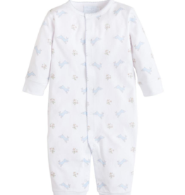 Little English Blue Bunny Coverall
