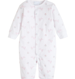 Little English Pink Bunny Coverall