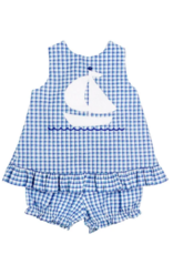 The Bailey Boys Ship Ahoy Angel Tie Dress With Bloomers