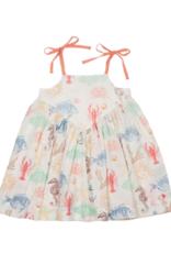 Pink Chicken Monroe Multi Sea Creature Dress