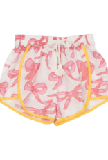 Pink Chicken Millie Mauveglow Bow Shorts