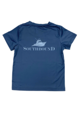 SouthBound Navy Tee Boat Logo