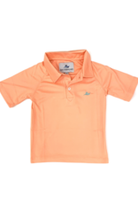 SouthBound Solid Salmon Dry Fit Polo