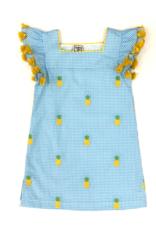 Cotton Kids Pineapple Shift Dress