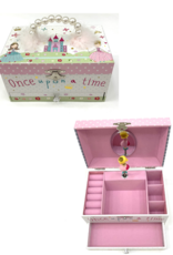 Floss & Rock Jewelry Box Large With Pearl Handle