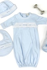 Kissy Kissy KK Blue sack with hand smock