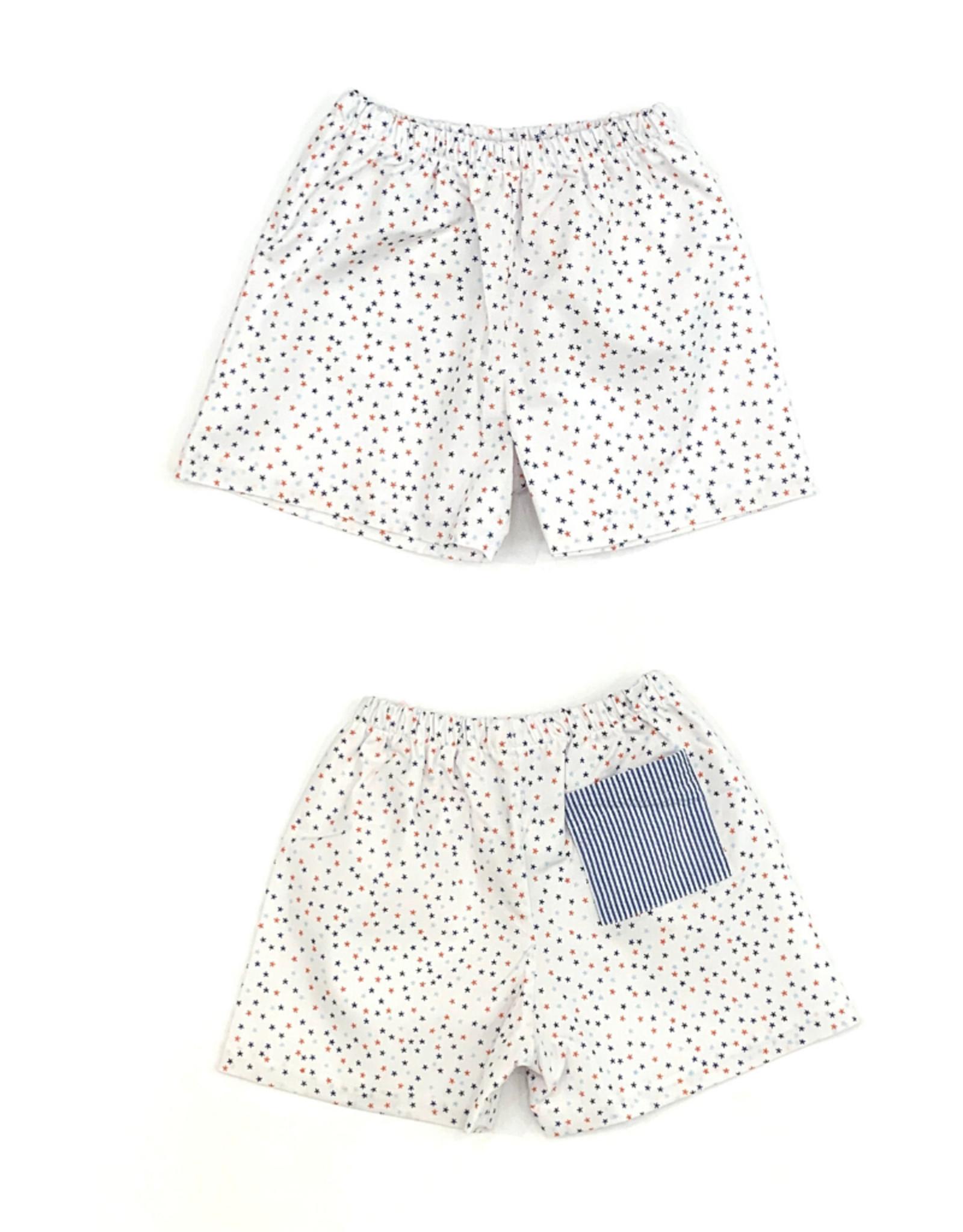 James and Lottie Conrad Starfish Shorts