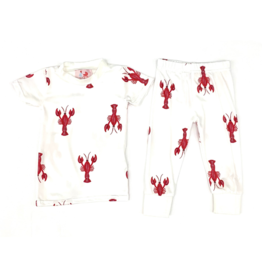Little Louanne Crawfish Short Sleeve Pajama Set