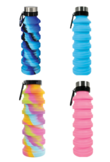 Iscream Silicone Collapsible Water Bottle