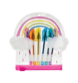 Iscream Rainbow Mini Gel Pen Set