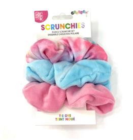 Iscream Tie Dye Scrunchie Set of 3