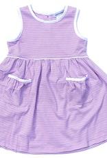 Ishtex Striped Sleeveless Dress