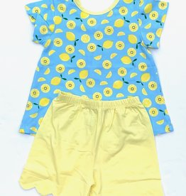Ishtex Lemon Knit Short Set