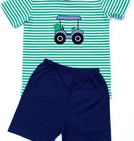 Ishtex Golf Cart Applique Short Set