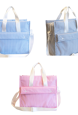 TRVL Design First Class Gingham Tote