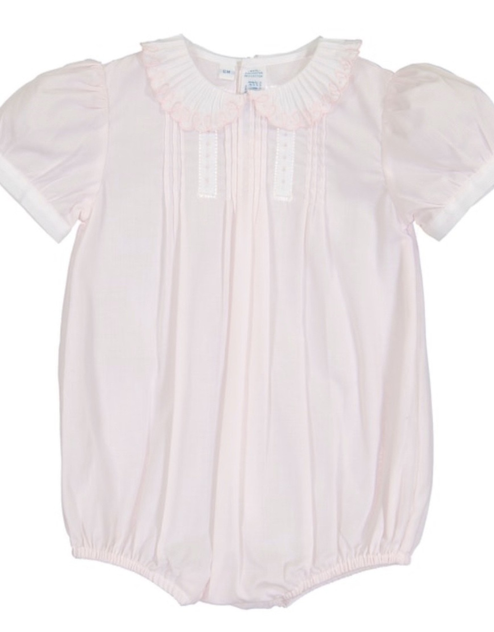 Feltman Brothers Girls Vintage Scalloped collar romper