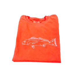 Mustard & ketchup Orange Redfish tee