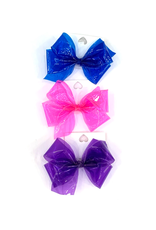 High Cotton Bows Medium Solid Jelly Waterproof Bow
