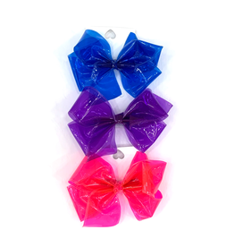 High Cotton Bows Large Solid Jelly Waterproof Bow