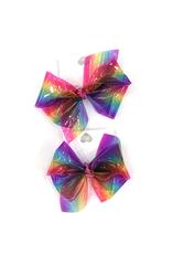 High Cotton Bows Medium Jelly Waterproof Rainbow Bow