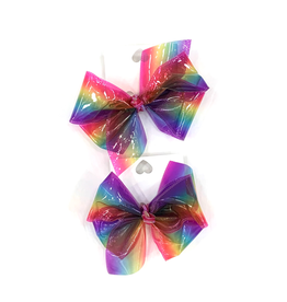 High Cotton Bows Medium Jelly Waterproof Rainbow Bow