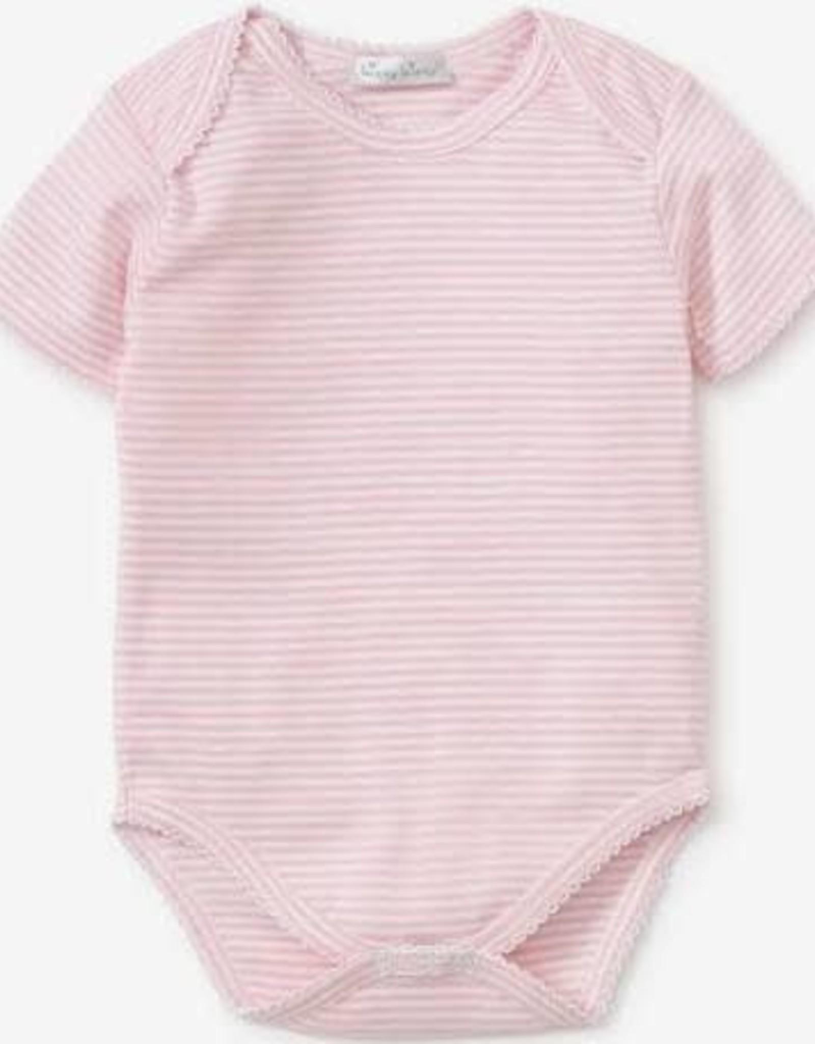 Kissy Kissy Pink Short Sleeve Stripe Bubble