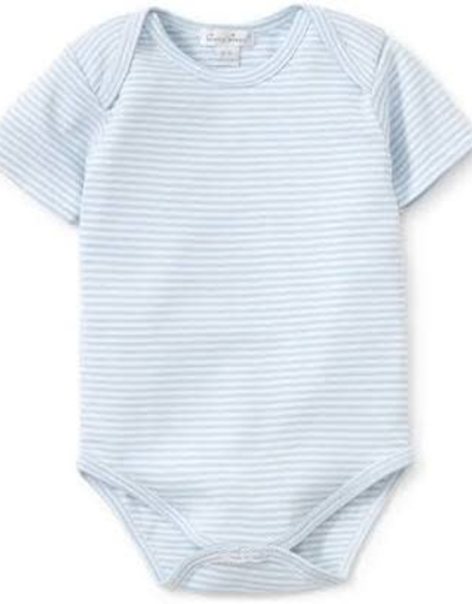 Kissy Kissy Light Blue Short Sleeve Stripe Bubble