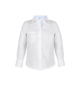 Baliene Daniel Boy Shirt White With Blue Stripes