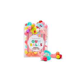 Twos Company Gumball Hair Ties