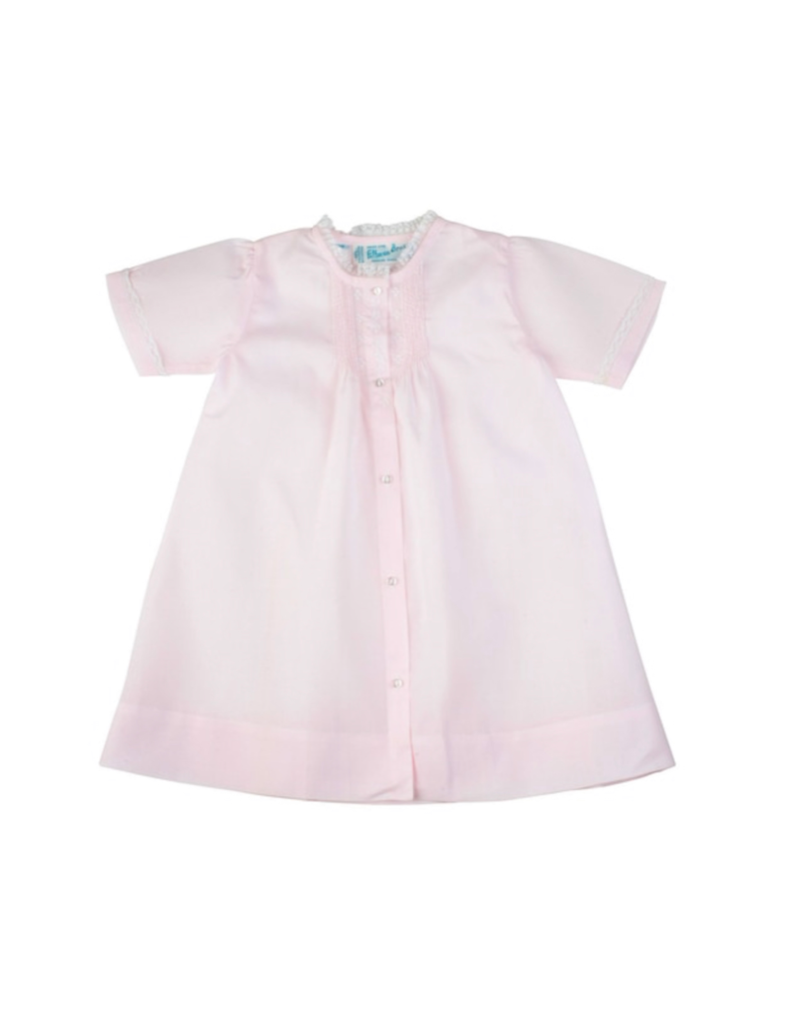 Feltman Brothers Pink Newborn Folded Daygown