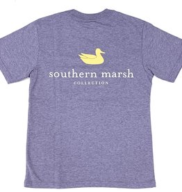 Southern Marsh Purple/Gold Logo Tee