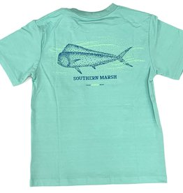 Southern Marsh Mint Mahi Performance Tee