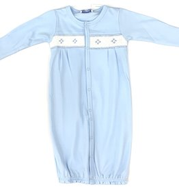 Nella Blue Diamond Smocked Converter