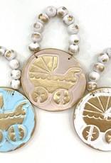 Bead Studio + Design Baby Carriage Ornament