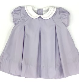 The Proper Peony Lavender Pleat Dress