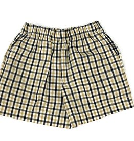 Lulu Bebe LLC Saints Plaid Shorts