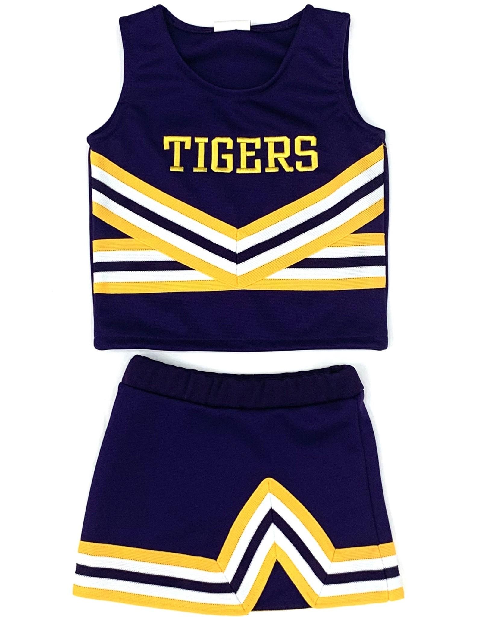 Lets Cheer LSU Cheer 2 Piece Purple